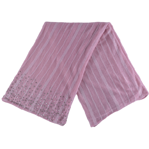 SCARVES WITH PEARL PATTERN