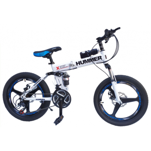 HUMMER MOUNTAIN BIKE FOLDING SIZE 20-White