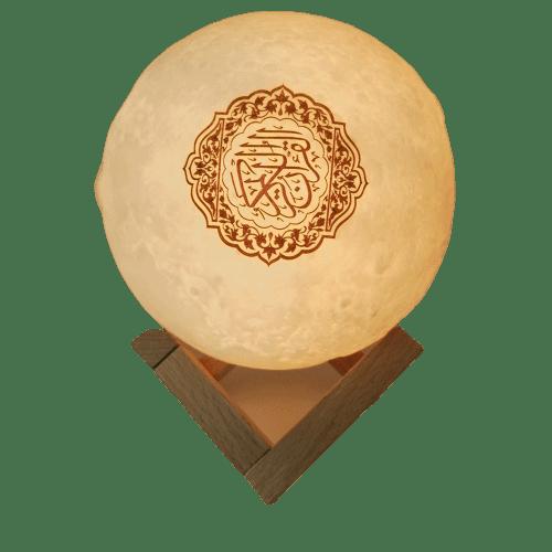 BLUETOOTH SPEAKER MOON LAMP QURAN