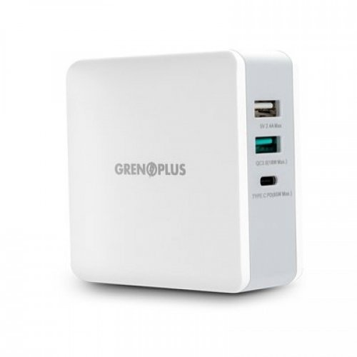WALL CHARGER 65W PD USB C GRENOPLUS