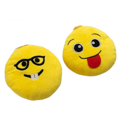 PLUSH COLLECTION SMILEY CUSHIONS