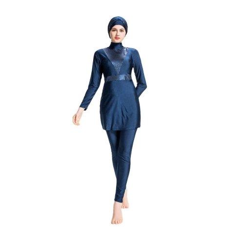 ISLAMIC SWIMMING SET FOR WOMEN NAVY BLUE