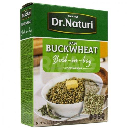 DR. NATURI- GREEN BUCKWHEAT BOIL IN BAG