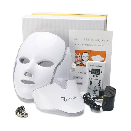 REEVAL COLORFUL LED BEAUTY FACIAL MASK