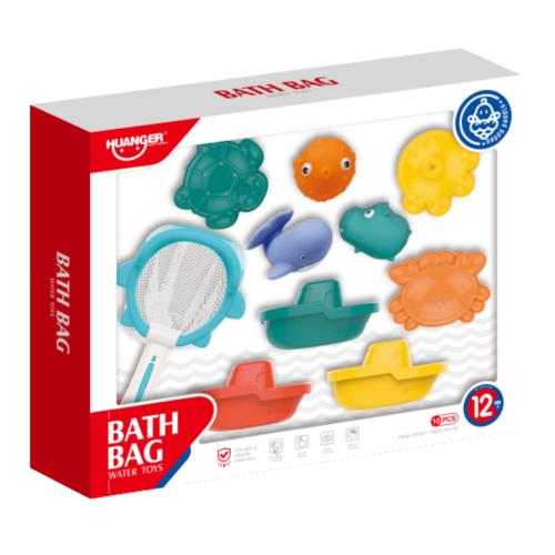 BABY WATER BATH SET 10 PCS