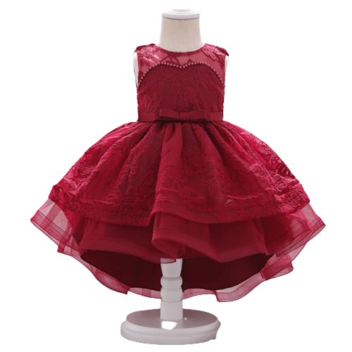 LONG TAIL PARTY DRESS FOR BABY 6M-18MONTHS