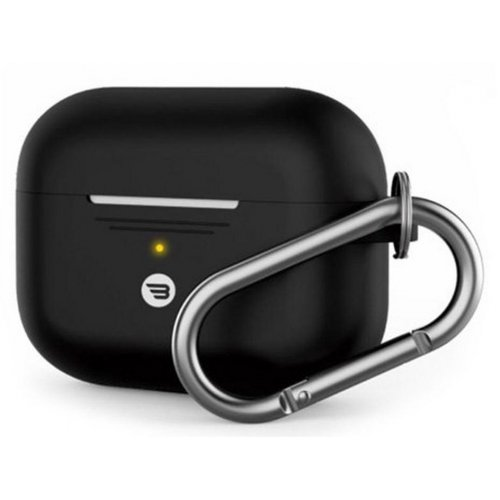 AIRPODS PRO SHOCKPROOF PROTECTIVE SILICONE CASE WITH CARABINER BAYKRON