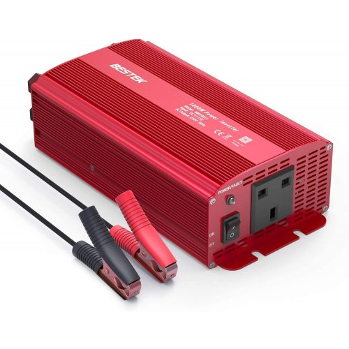 BESTEK 1000W POWER INVERTER WITH AC OUTLET