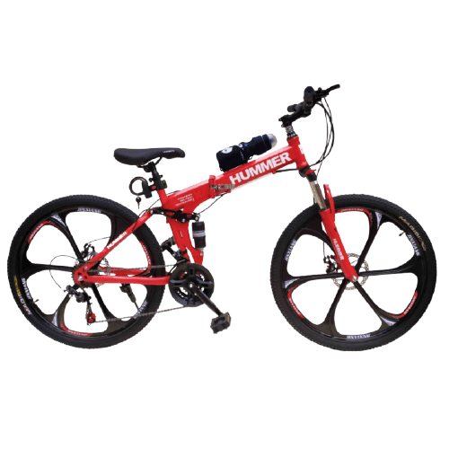 HUMMER MOUNTAIN BIKE FOLDABLE SIZE 24