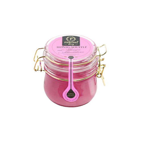 HONEY-SOUFFLE WITH BLACK CURRANT 250G
