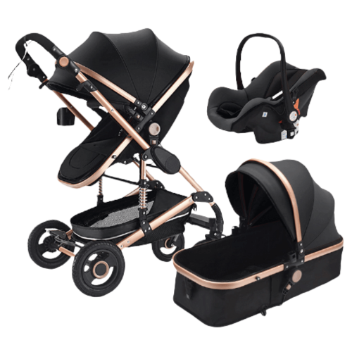 BABY STROLLER 3 IN 1 MULTI-FUNCTIONAL WITH BABY CARRY BASKET