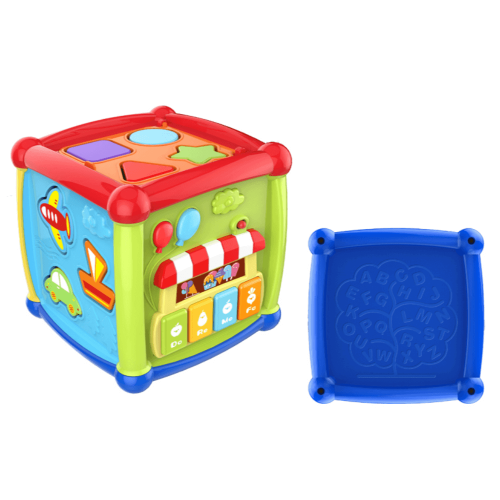 ACTIVITY CUBE WITH LIGHT AND MUSIC