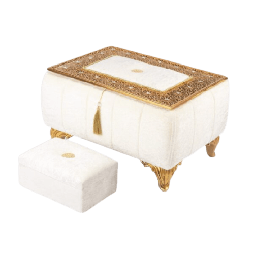 BRIDE BOX WITH GOLD TOP