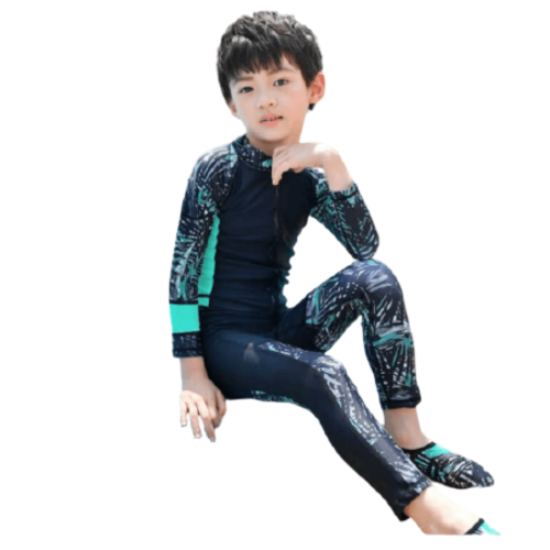 KIDS LONGSLEEVE SWIMWEAR UV PROTECTION FULL BODY FOR BOYS