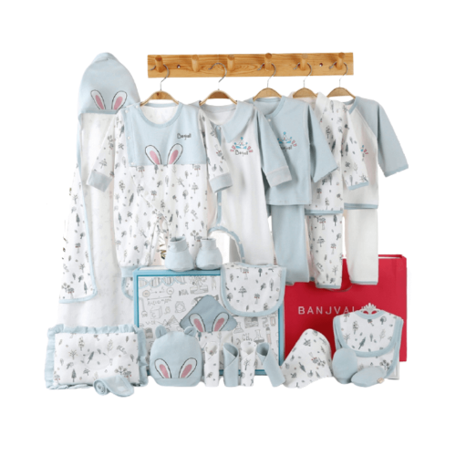 BABY GIFT BOX SET FOR BOYS 0-6 MONTHS