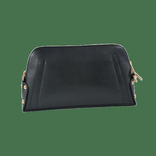 WOMEN LEATHER SLING BAG BLACK