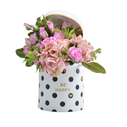 LUXURIOUS PINK FLOWER IN A BOX