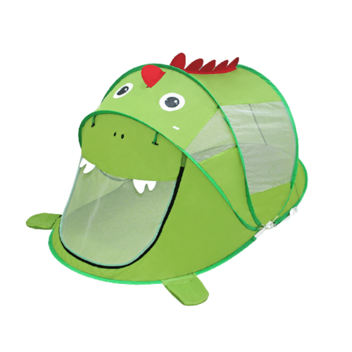 PLAY TENT POP UP FOR KIDS WITH DINOSAUR DESIGN