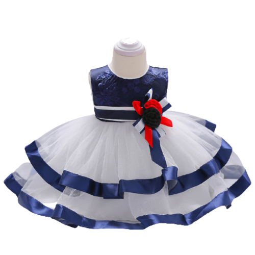 PARTY DRESS LUXURY EVENT FOR BABY GIRLS 12-18MONTHS