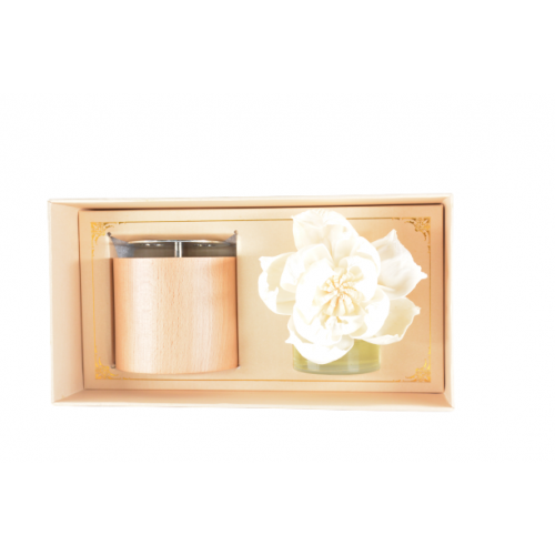 AUTOMATIC MUSIC BOX WITH FLOWER