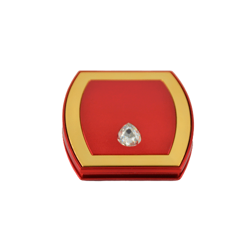 POCKET MIRROR WITH DIAMOND ACCENT