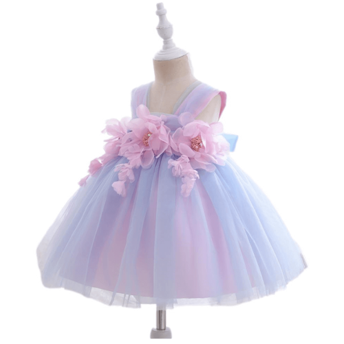GIRLS PARTY LACE DRESS SET WITH GIFT BOX FOR 2 TO 4 Y/O