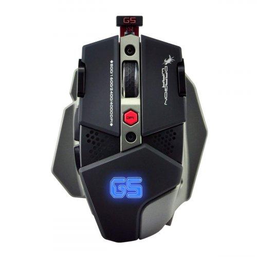 GAMING MOUSE DRAGONWAR G5 WARLORD 4000 DPI WITH MACRO BLACK