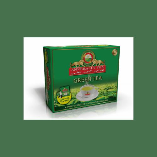 ANVERALLY GREEN TEA BAG DOUBLE CHAMBER