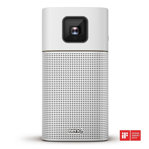 BENQ PORTABLE PROJECTOR WITH BATTERY, WI-FI AND BLUETOOTH SPEAKER GV1