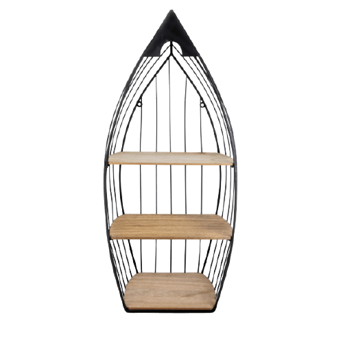 BLACK METAL HANGING STAND FOR DECORATION M