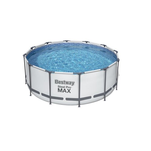 SWIMMING POOL BESTWAY FAMILY SIZE ROUND WITH FILTER PUMP