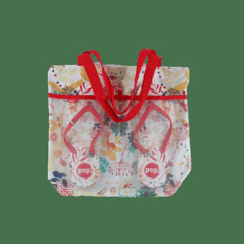 BEACHWEAR COMBO SLIPPERS & BAG OFFER MODEL 2 AUTUMN
