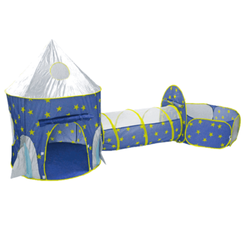 PLAYHOUSE TENT WITH SPACE CAPSULE DESIGN