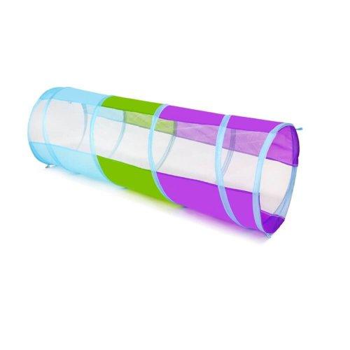 TUNNEL TENT FOR KIDS INDOOR/OUTDOOR MESH CRAWL