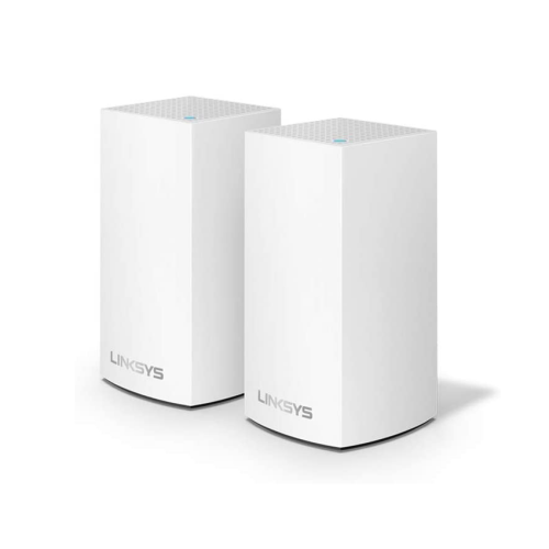 MESH WIFI SYSTEM 2 PACK VELOP INTELLIGENT AC2600 WHITE LINKSYS