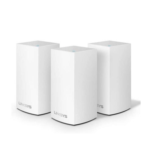 MESH WIFI SYSTEM 3 PACK VELOP INTELLIGENT AC3900 WHITE LINKSYS