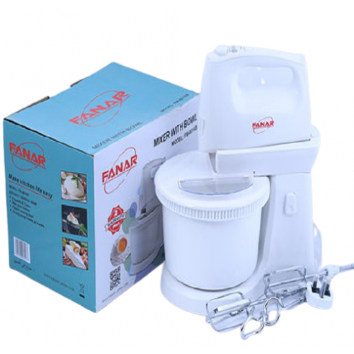 MIXER WITH BOWL 400W FANAR
