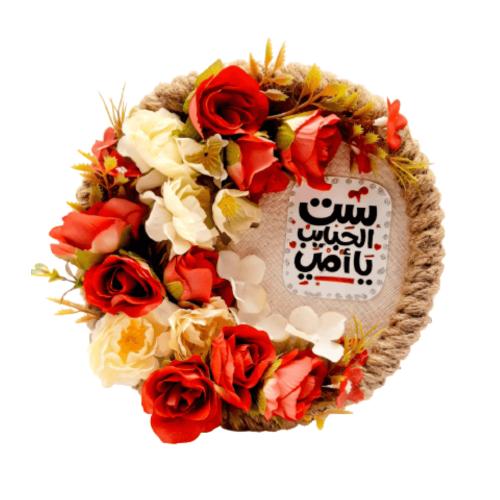 HANDMADE FLOWER CIRCLE MEDIUM