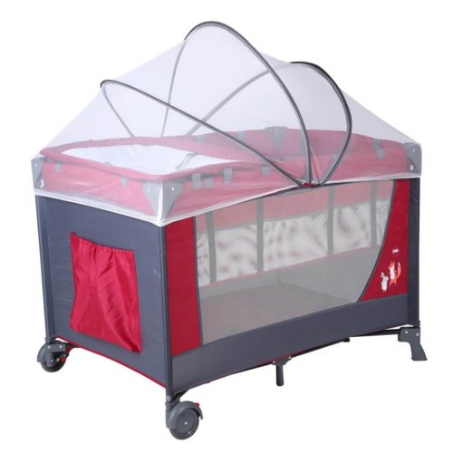 BABY BED PLAYPEN WITH MOSQUITO NET