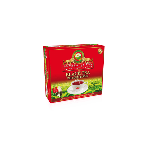 ANVERALLY BLACK TEA BAGS DOUBLE CHAMBER