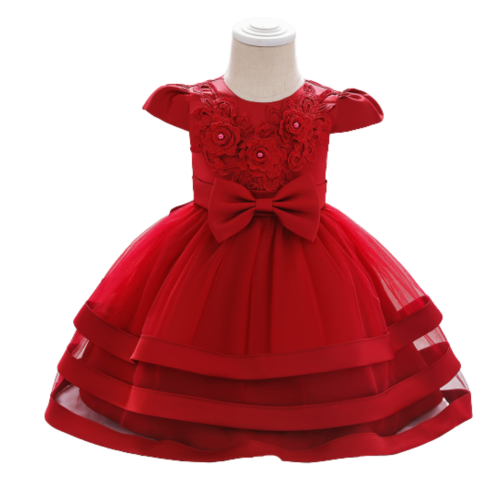 LACE PARTY DRESS FOR GIRLS 6M-18M