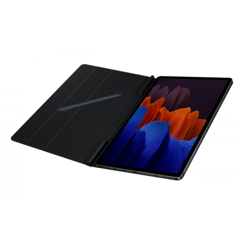 SAMSUNG BOOK COVER FOR GALAXY TAB S7 PLUS BLACK EFBT970PBEGWW