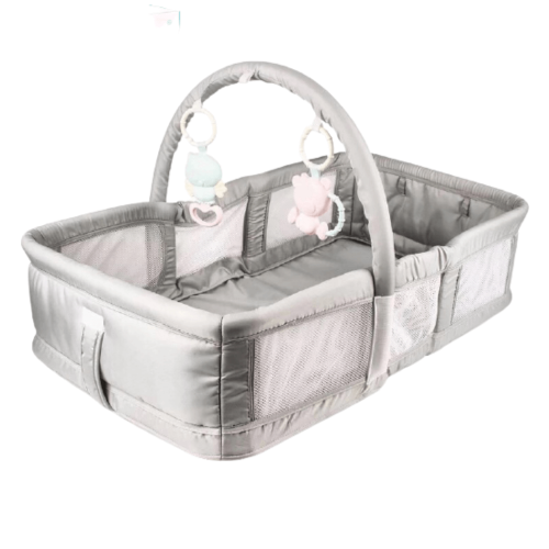 PORTABLE BABY SLEEPING BASKET FOR 0 TO 12 MOS