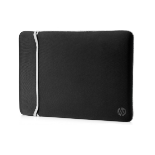 HP 15.6 REVERSIBLE CHROMA SLEEVE BLACK AND SILVER (2UF62AA)
