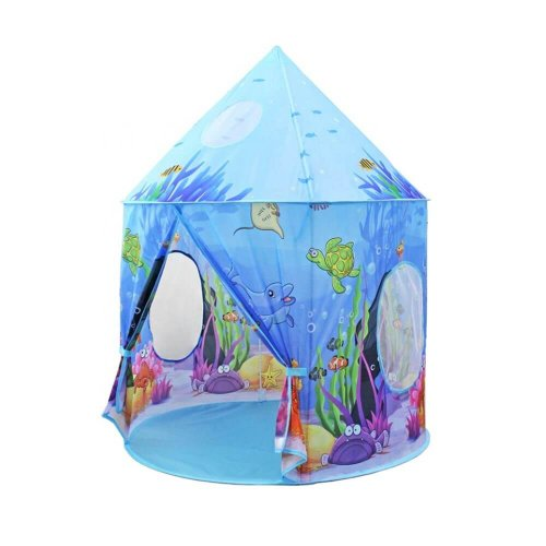PLAY TENT FOR KIDS UNDER THE SEA DESIGN