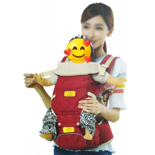 BABY CARRIER WITH SMILEY