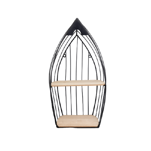 BLACK METAL HANGING STAND FOR DECORATION S