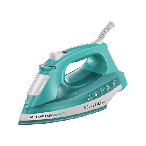 STEAM IRON LIGHT AND EASY BRIGHTS 24840 RUSSELL HOBBS