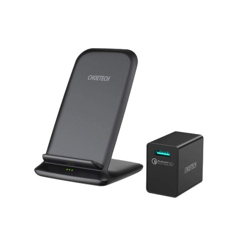 FAST WIRELESS CHARGING STAND WITH ADAPTER 15W T555-F CHOETECH