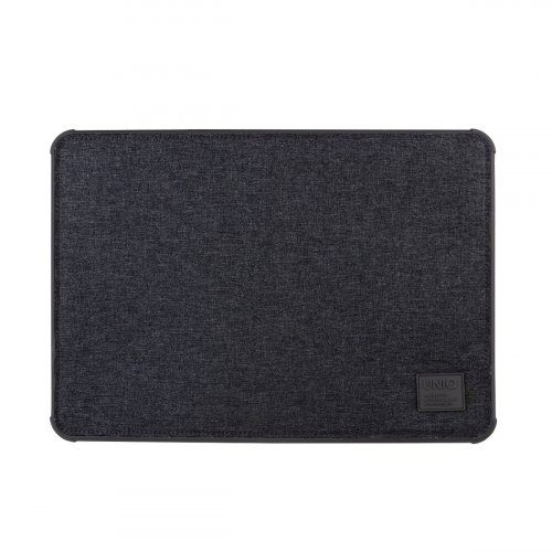 LAPTOP SLEEVE UNIQ DFENDER TOUGH UP TO 15 INCHES CHARCOAL BLACK